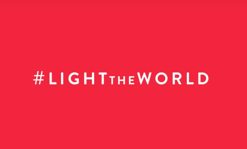 Some thoughts about #LIGHTtheWORLD