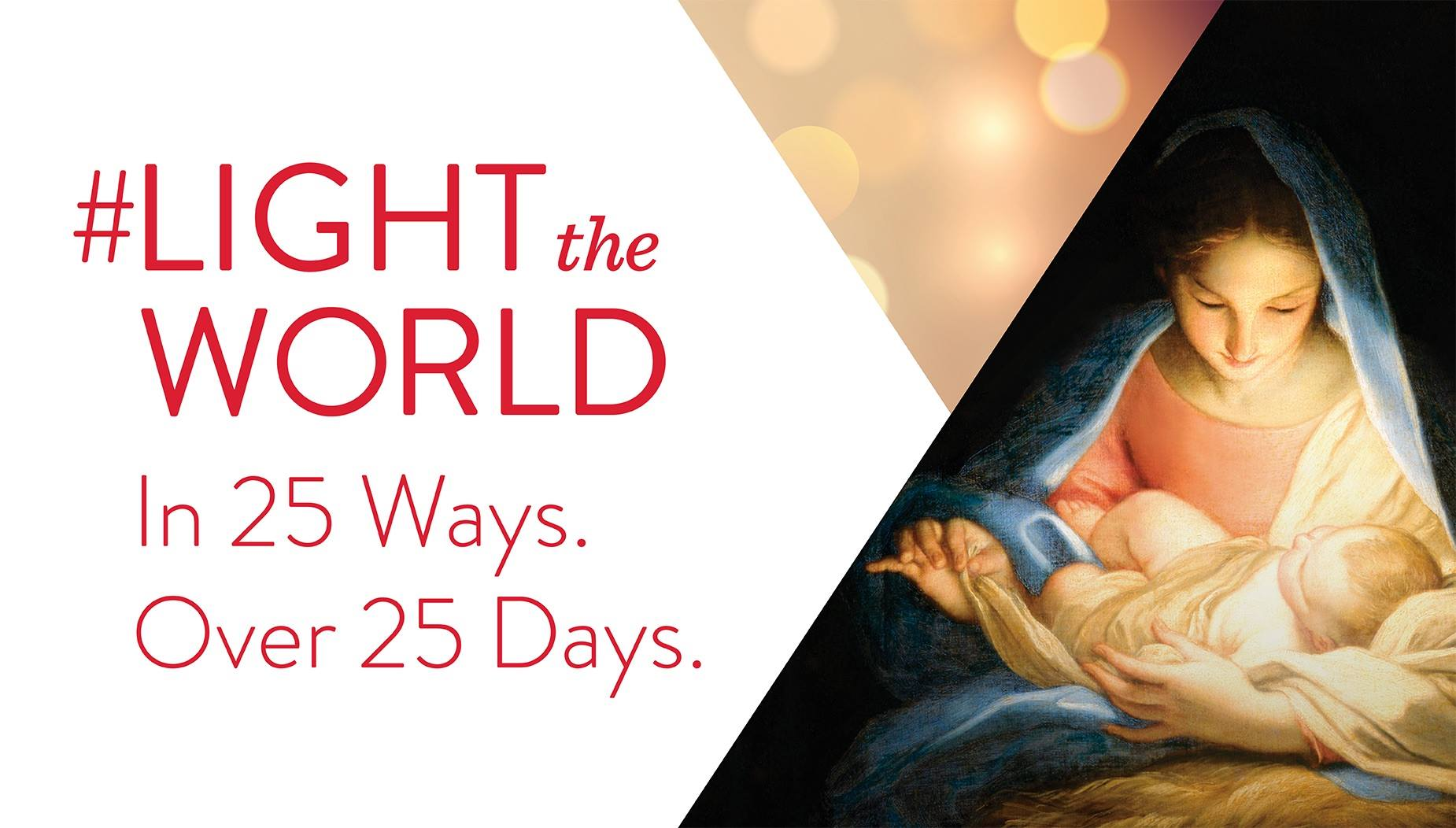 #LIGHTtheWORLD Day 3: Eyes to See