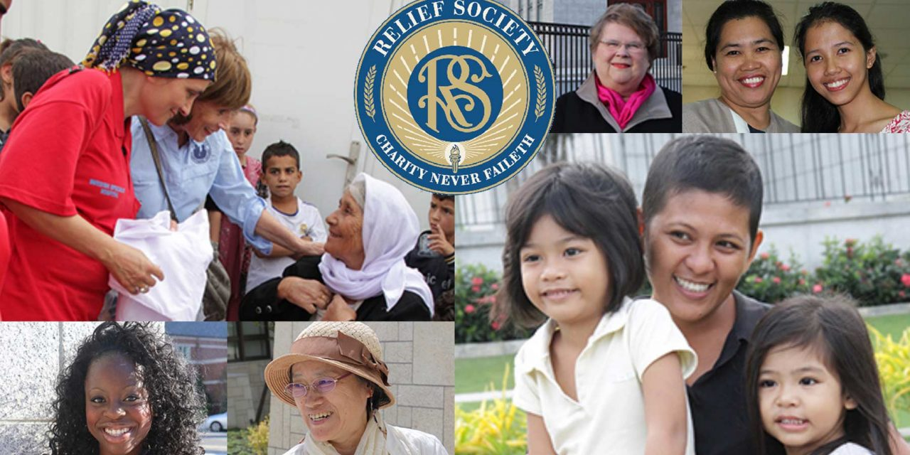 Mormon Women celebrate the 175th anniversary of the Relief Society