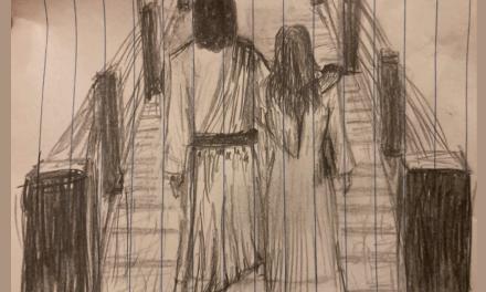Jesus Christ walks with me