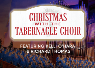 12 Days of Christmas Music, Day 4: Tabernacle Choir and Orchestra, Kelli O'Hara and Richard Thomas