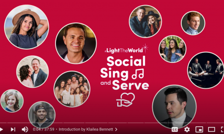 12 Days of Christmas, Day 2: #LightTheWorld Social Sing and Serve